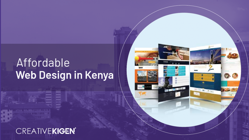 affordable web design in kenya
