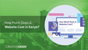 website cost in kenya