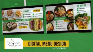 Digital Menu Design in Kenya
