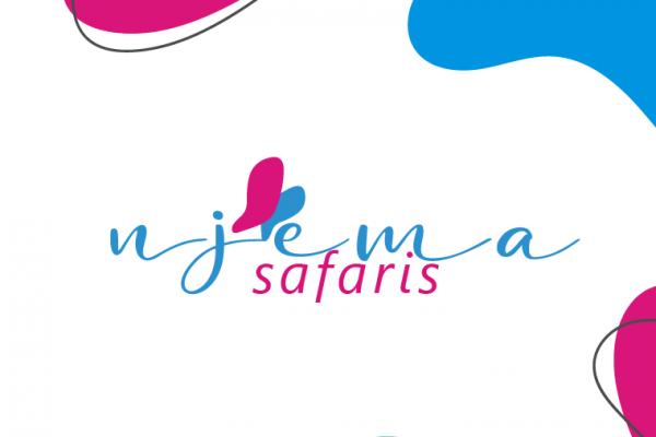 Travel Logo design in Kenya for Njema Safaris