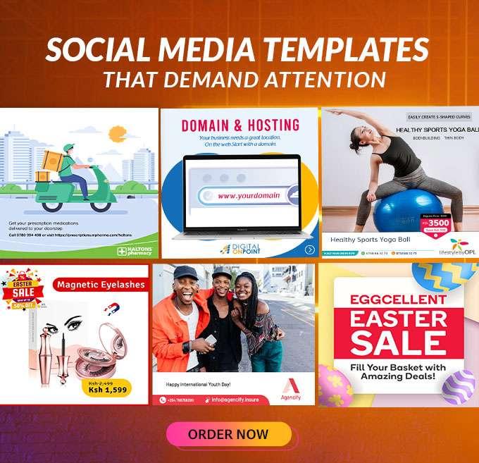 Social Media Post Graphics Services in Kenya