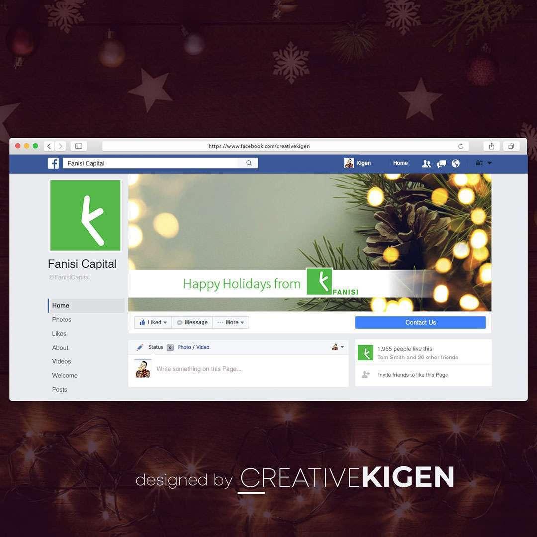 Facebook Cover Design Services in Kenya