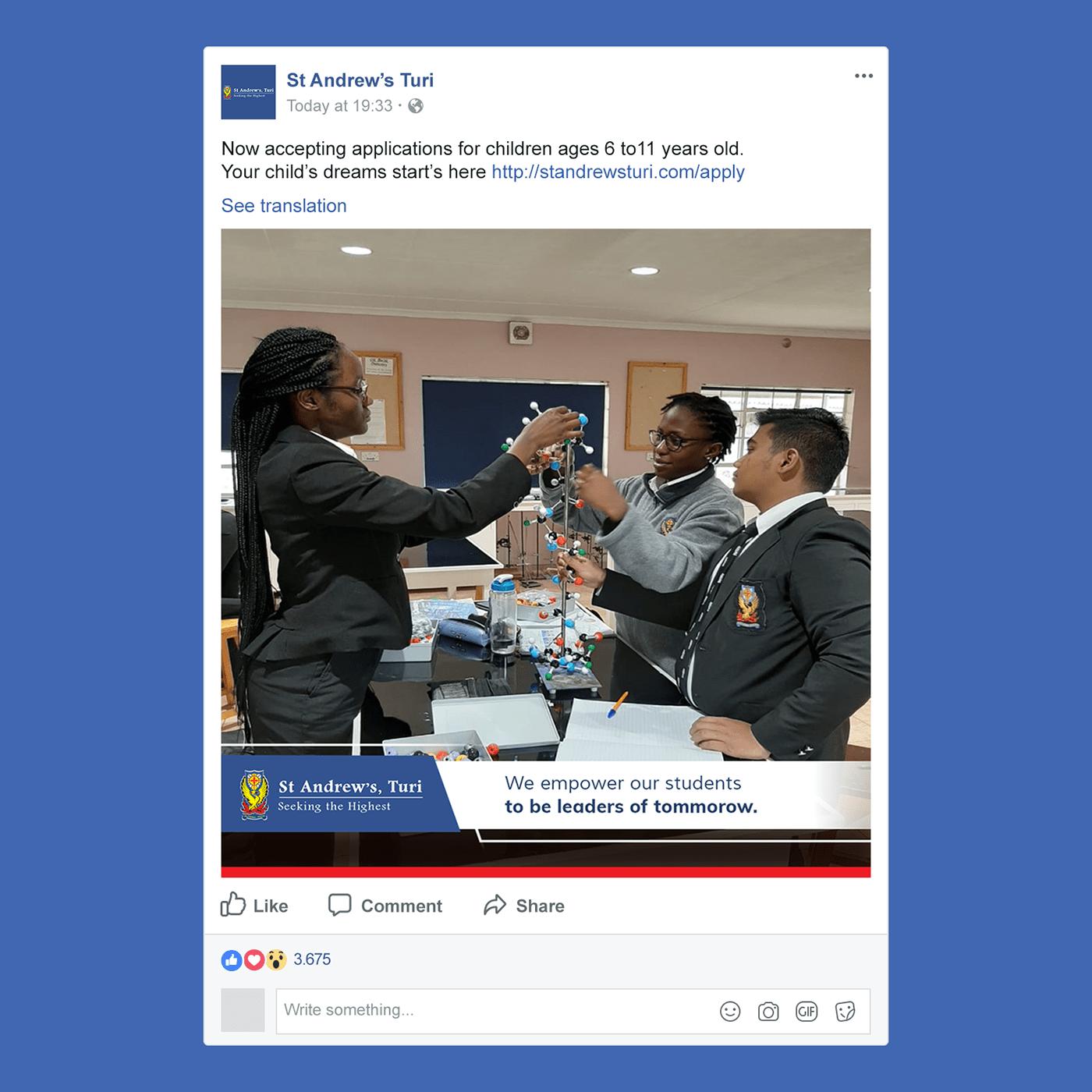 social media design in kenya