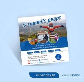 eFlyer Design Services in Kenya