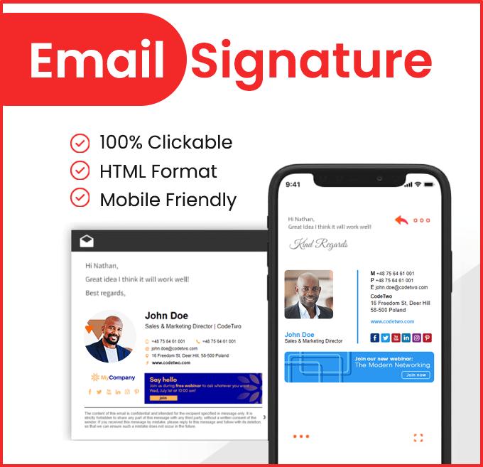 Email Signature Design Services in Kenya