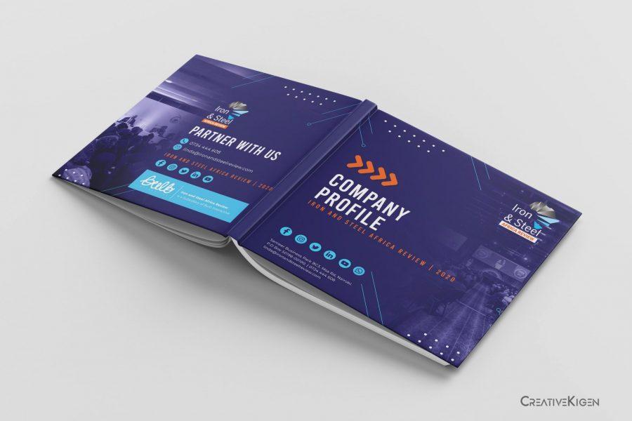 Company Profile Design in Kenya