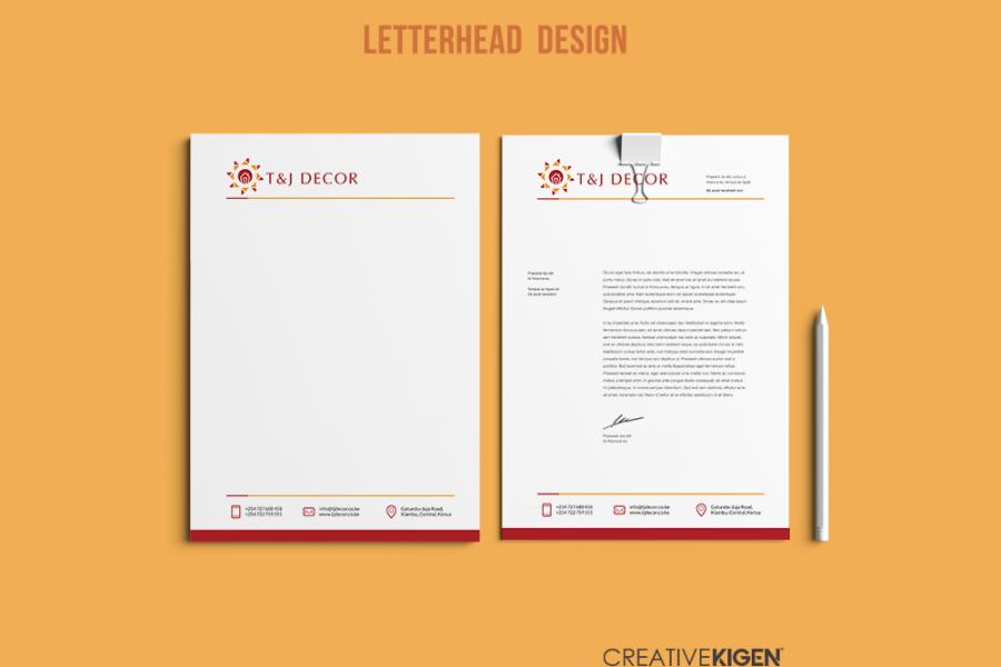 Letterhead Design in Kenya