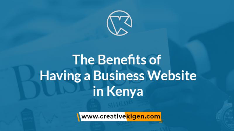 business website in kenya